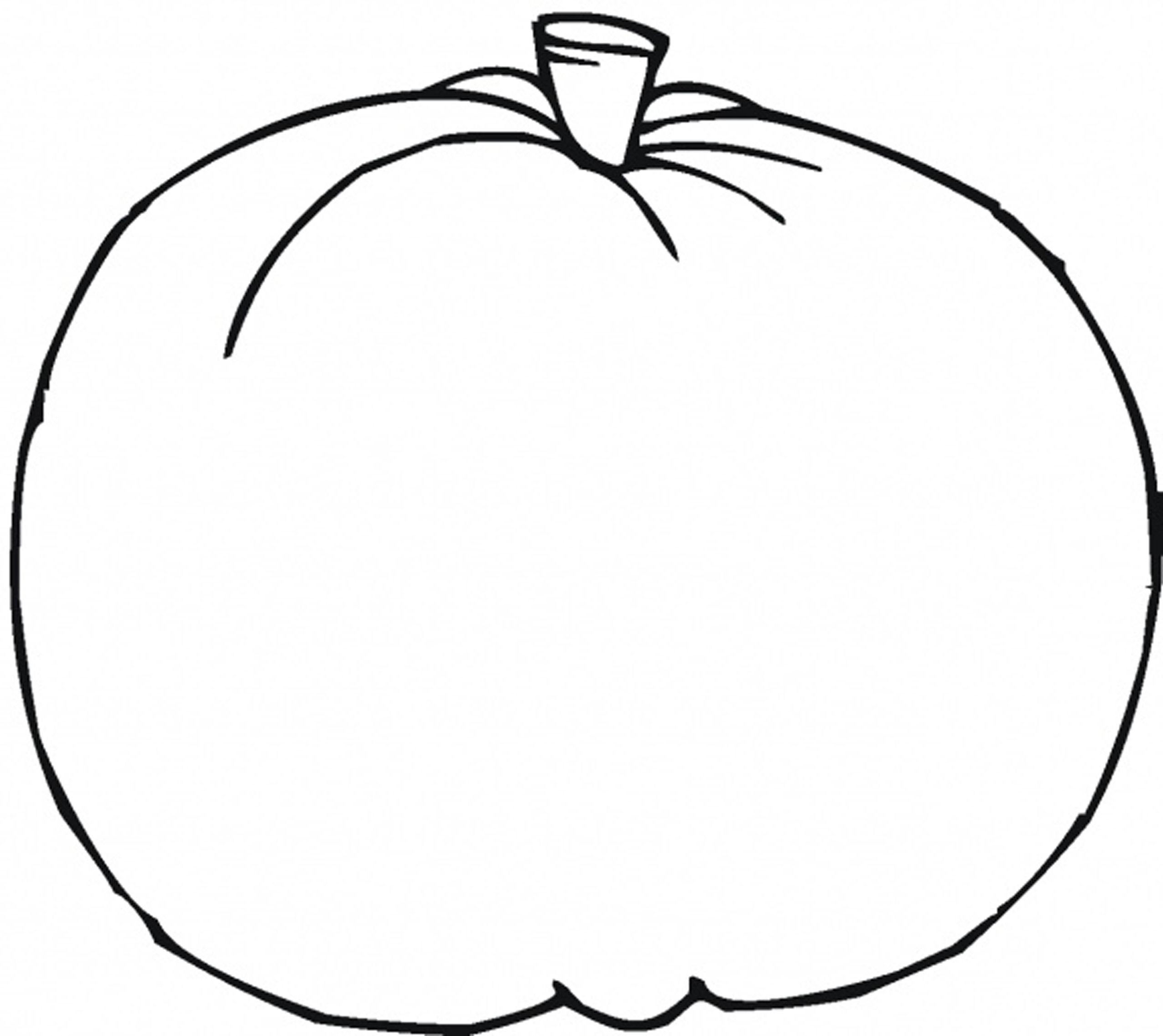 2550x2273 Cool Plain Pumpkin Coloring Pages Expert Free Printable Pictures