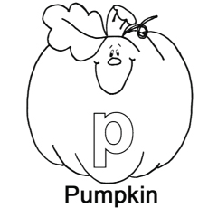 230x230 Top Free Printable Letter P Coloring Pages Online