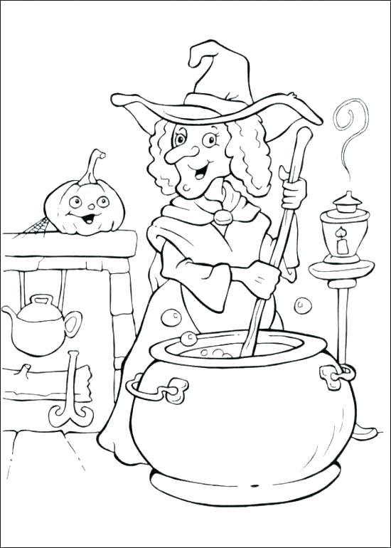 550x770 Halloween Coloring Pages Printables Toddler Coloring Pages Free