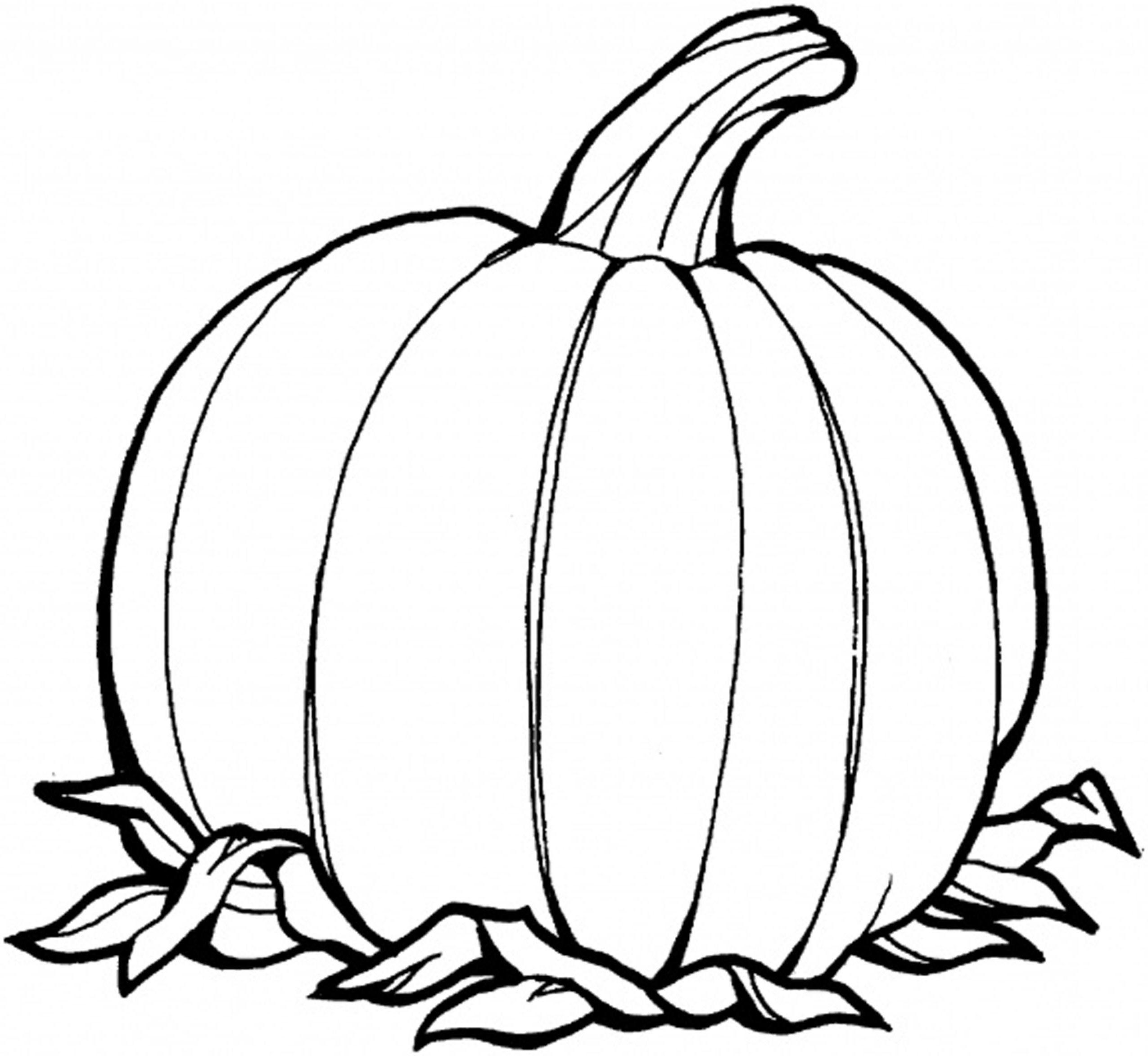 Pumpkin Coloring Pages Printables at GetDrawings.com | Free ...