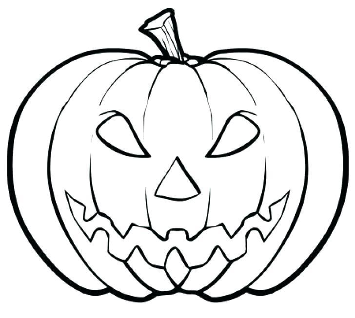 728x653 Coloring A Pumpkin Pumpkin Template Colouring Pages Blank Pumpkin