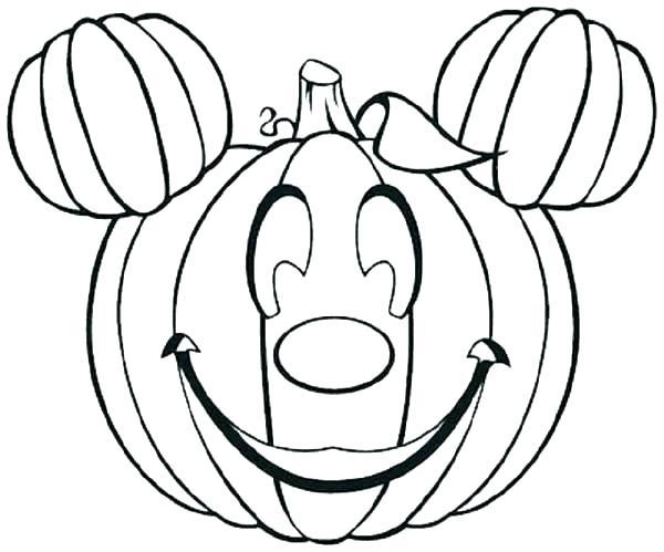 600x499 Coloring Page Of A Pumpkin Pumpkin Coloring Page Pumpkin Color