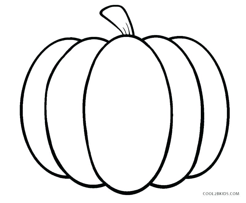 800x660 Pumpkin Coloring Pages To Print Coloring Page Of A Pumpkin Pumpkin