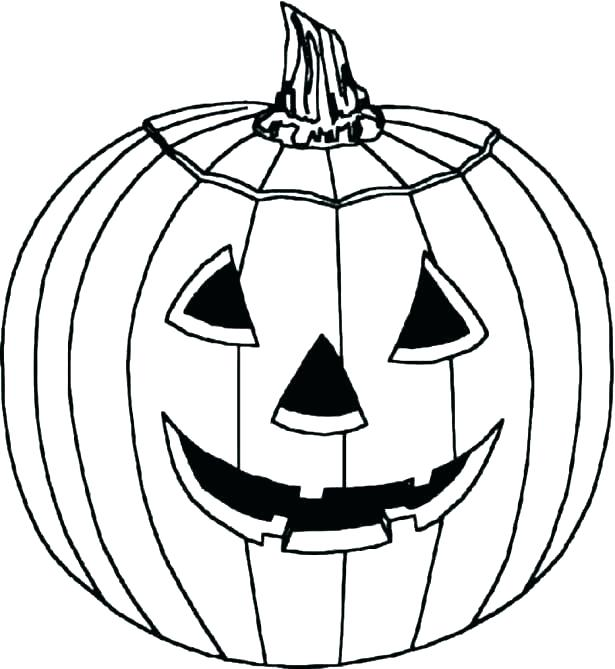 615x669 Pumpkin Coloring Pattern Pumpkin Coloring Coloring Pages Pumpkin
