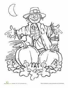 236x305 Pumpkin Patch Coloring Page Worksheets, Patches And School