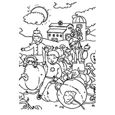 230x230 Top Free Printable Pumpkin Coloring Pages Online
