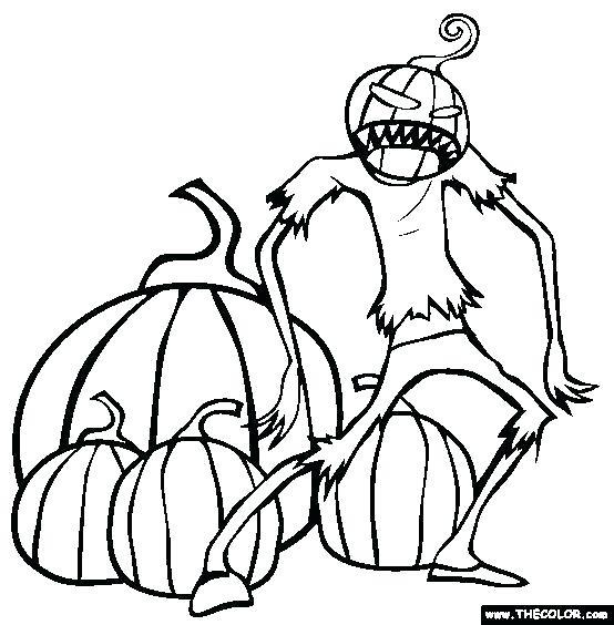 554x564 Pumpkin Halloween Coloring Pages Pumpkin Coloring Pages Pumpkin