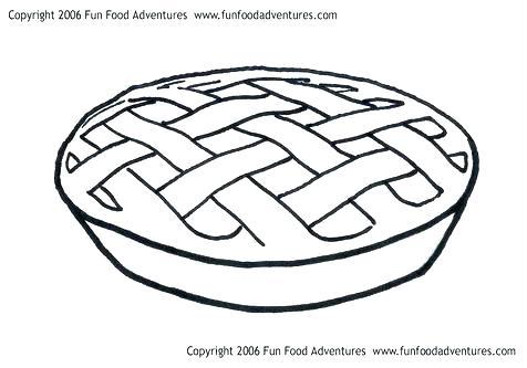 476x333 Pie Coloring Pages Pie Coloring Pages Pumpkin Pie Coloring Page