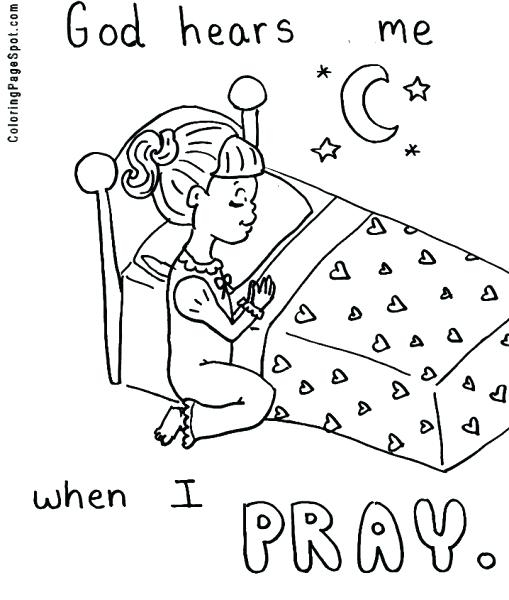 509x600 Coloring Pumpkin Prayer Coloring Pages
