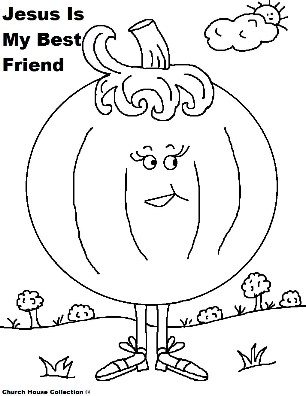 1019x1319 Imagination Pumpkin Prayer Coloring Page For Sunday School Kids
