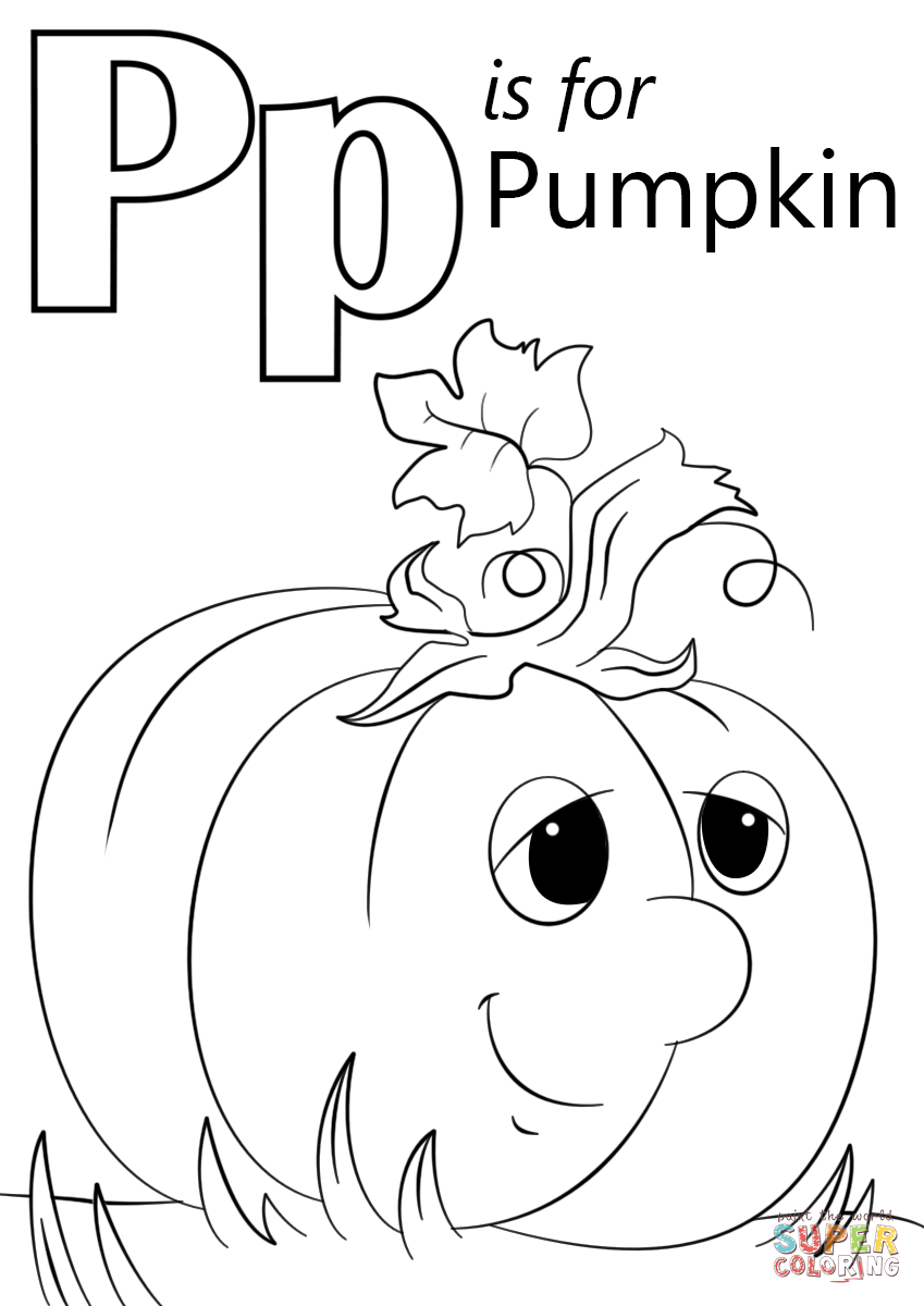 849x1200 Inspiring Pumpkin Prayer Coloring Page Letter P Is For Free