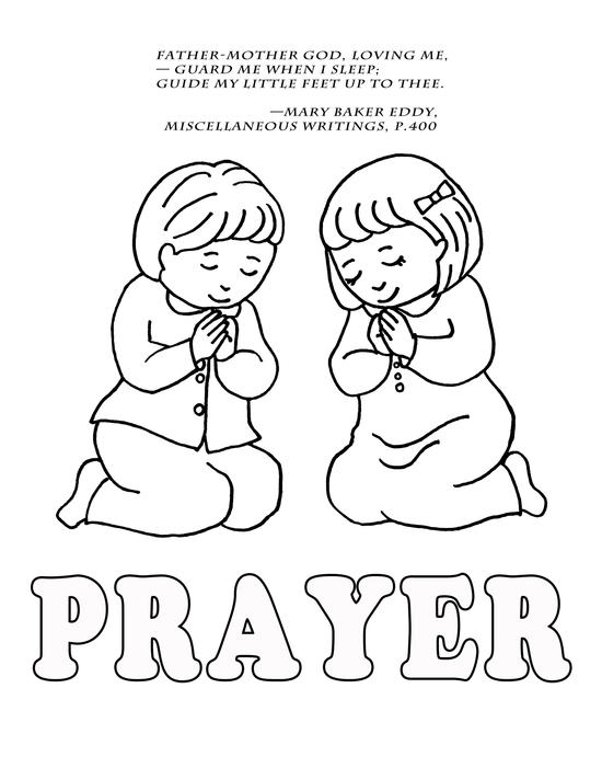 550x712 Stunning Design Prayer Coloring Pages Praying Pictures In Gallery