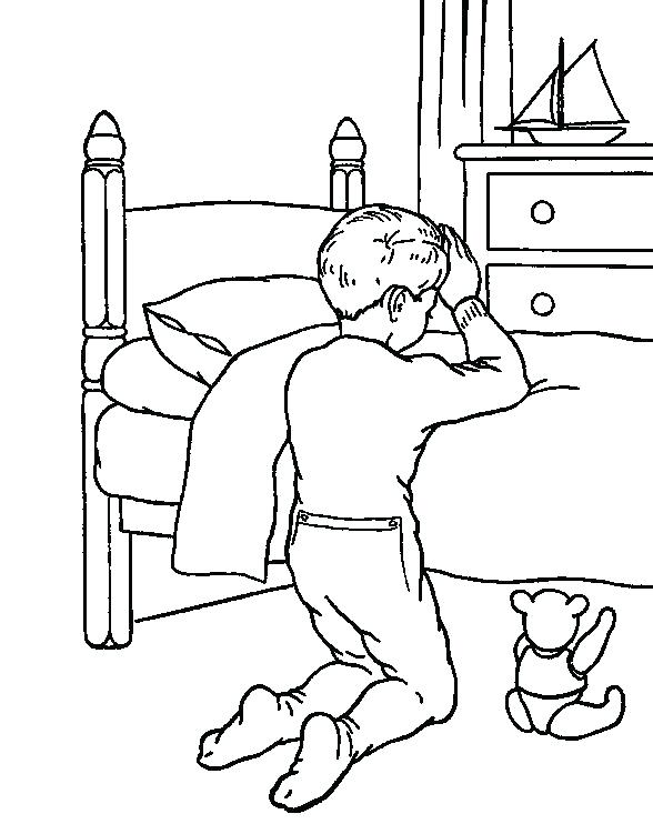 588x742 Children Praying Coloring Page Prayer Coloring Pages Praying Child