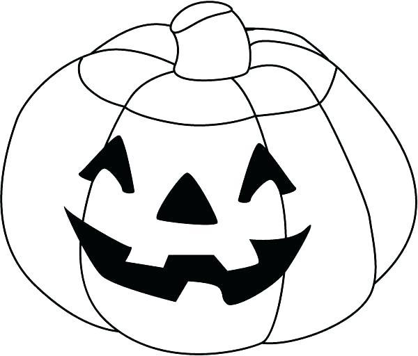 600x512 Coloring Pages Pumpkin Printable Pumpkin Coloring Page Pumpkin