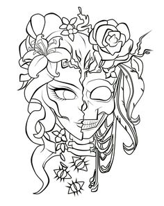 Punk Coloring Pages