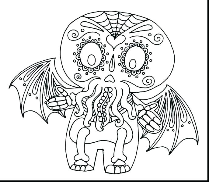 687x597 Skull Coloring Pages Anatomy Skull Coloring Pages Anatomy Page
