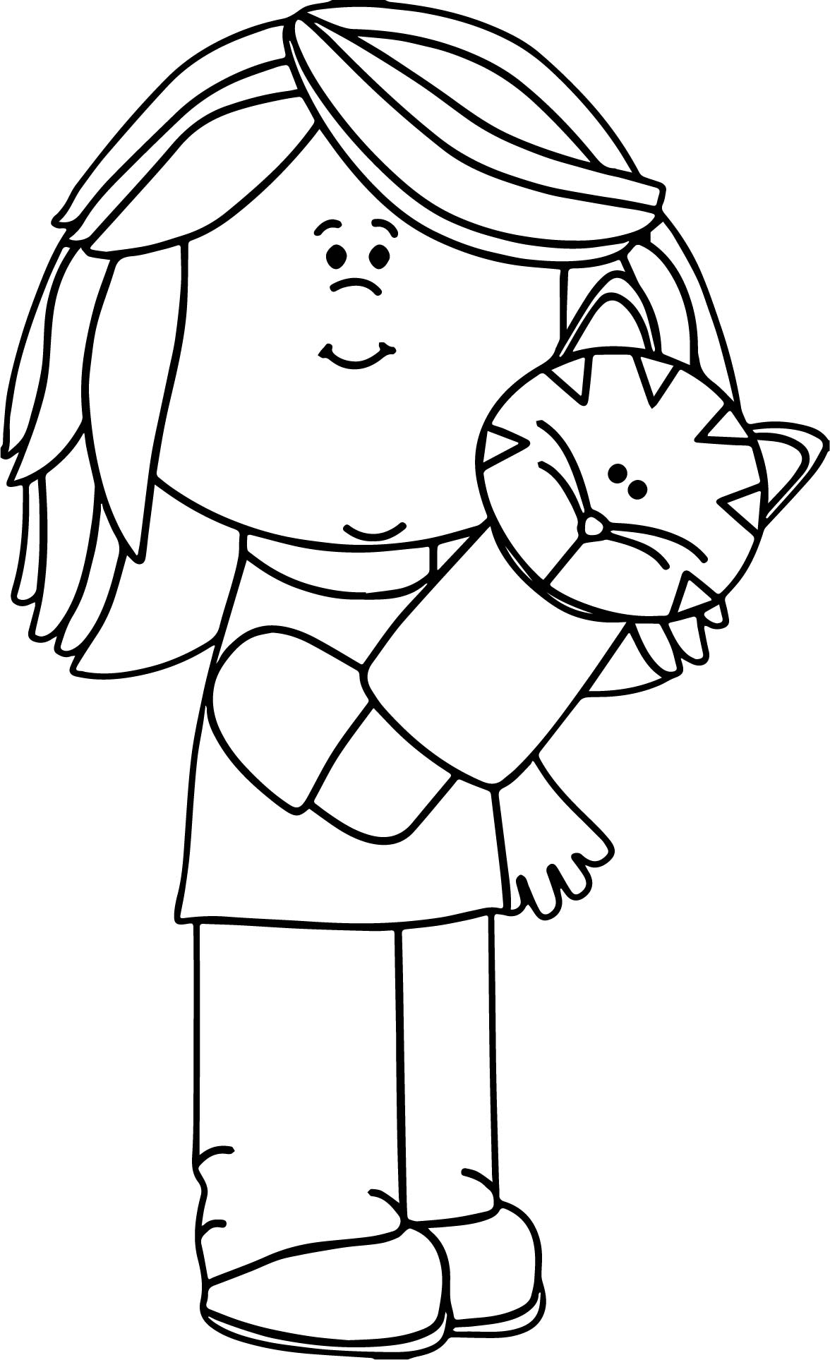 1176x1927 Marionette Coloring Page