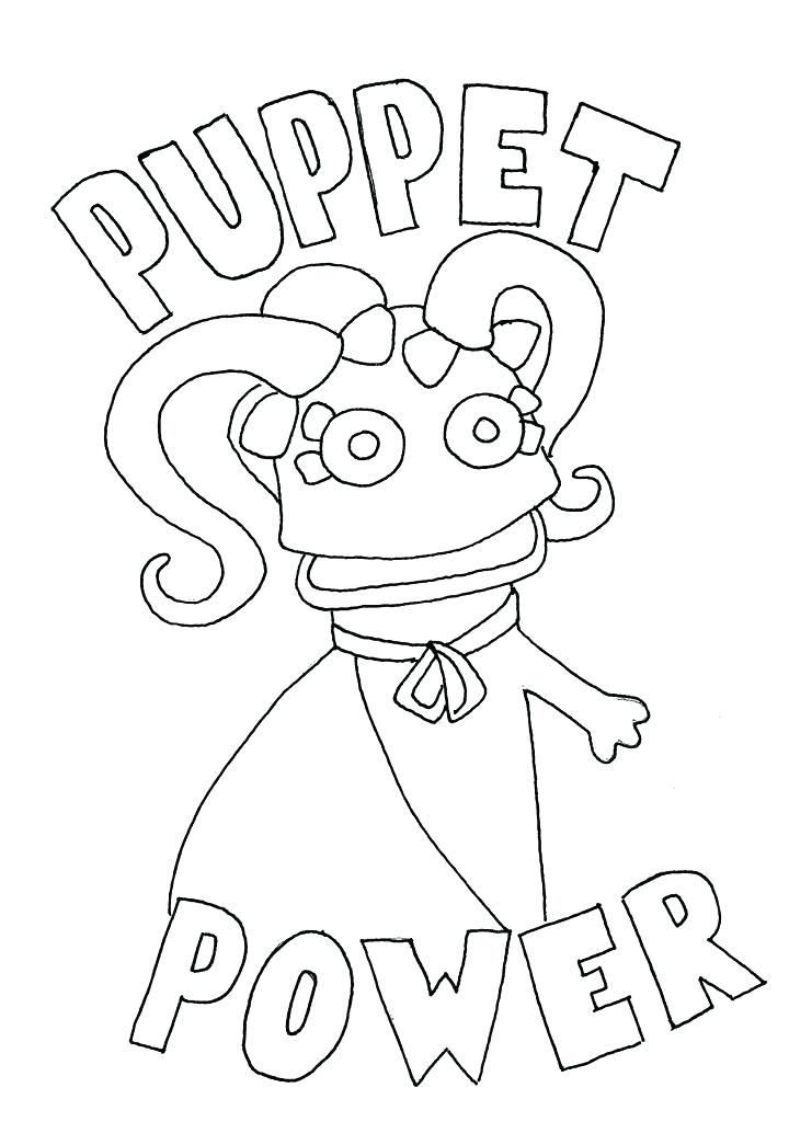 741x1024 Puppet Coloring Pages Good Puppet Coloring Pages Fee Puppet Master