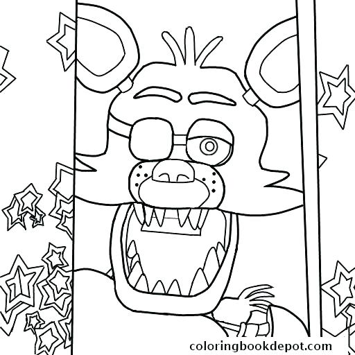 512x512 Puppet Master Coloring Pages Coloring Pages Five Nights