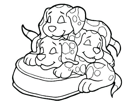 465x360 Coloring Pages Puppies And Kittens Puppies Coloring Pages Puppy
