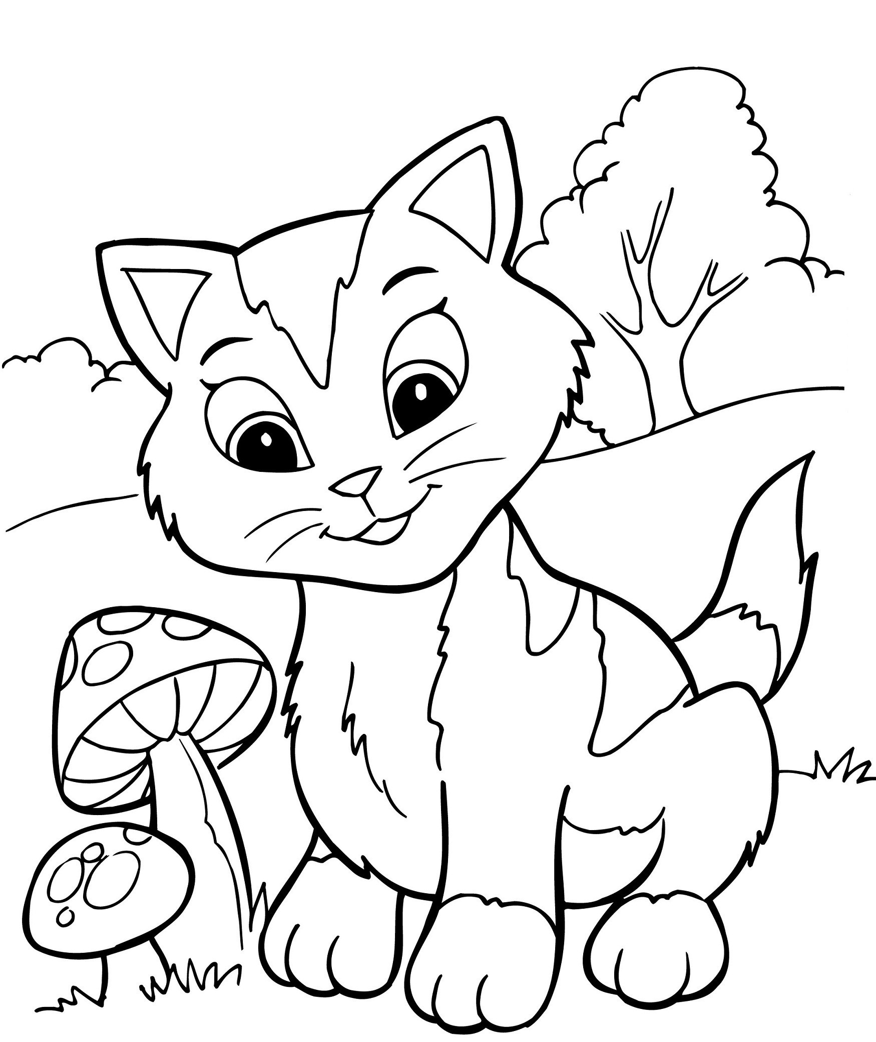 1750x2080 Coloring Kitten Pages Luxury Coloring Pages For Puppies Copy Puppy