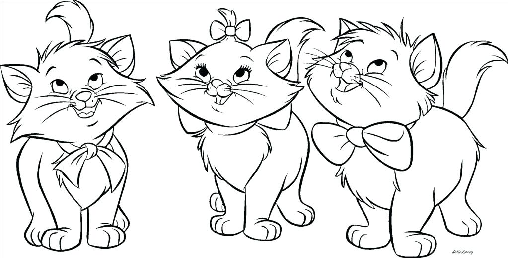 1023x519 Printable Kitten Coloring Pages Cute Kitten Coloring Pages Cute