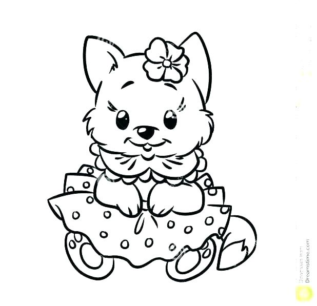 618x597 Puppy And Kitten Coloring Pages Cute Kitten And Puppy Coloring