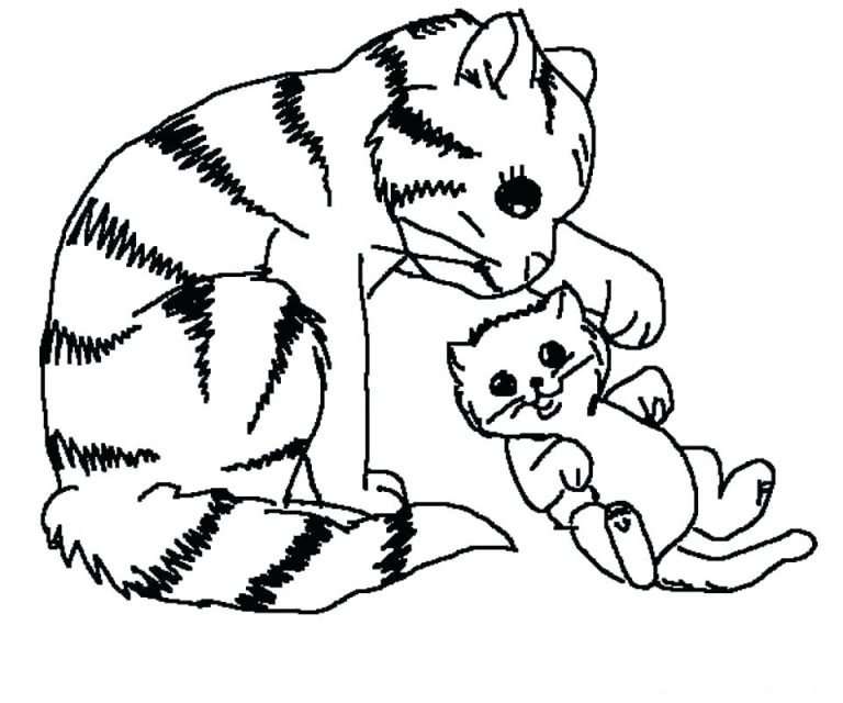 768x640 Coloring Pages For Puppies And Kittens Copy New Page Puppy Kitten