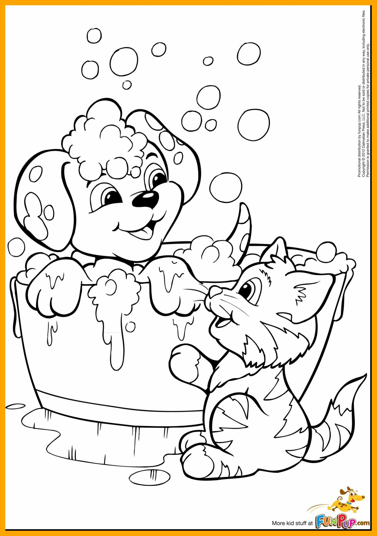 1223x1739 The Best Puppy Kitten Coloring Page Picture For And Style Coloring