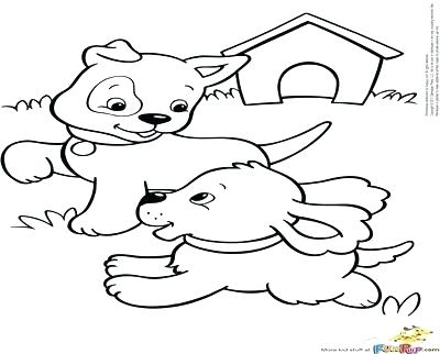 400x322 Coloring Pages Of Puppies And Kittens Puppy And Kitten Coloring