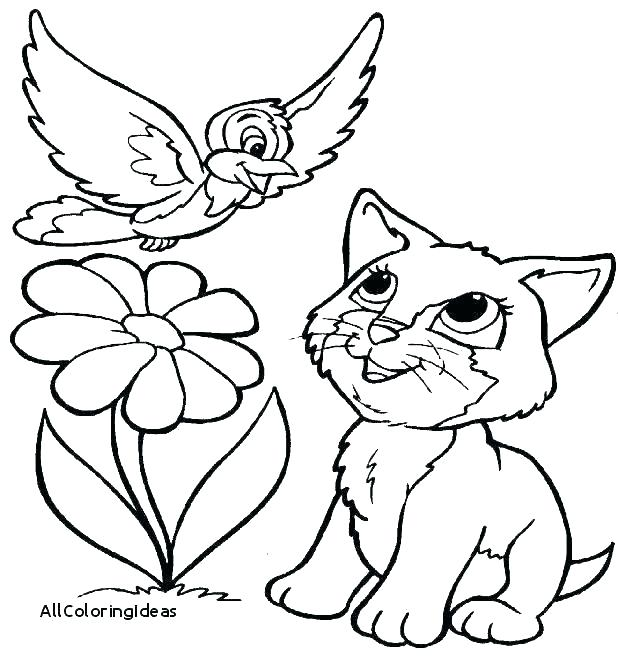 618x662 Coloring Pages Of Puppies Puppy Coloring In Kittens And Puppies