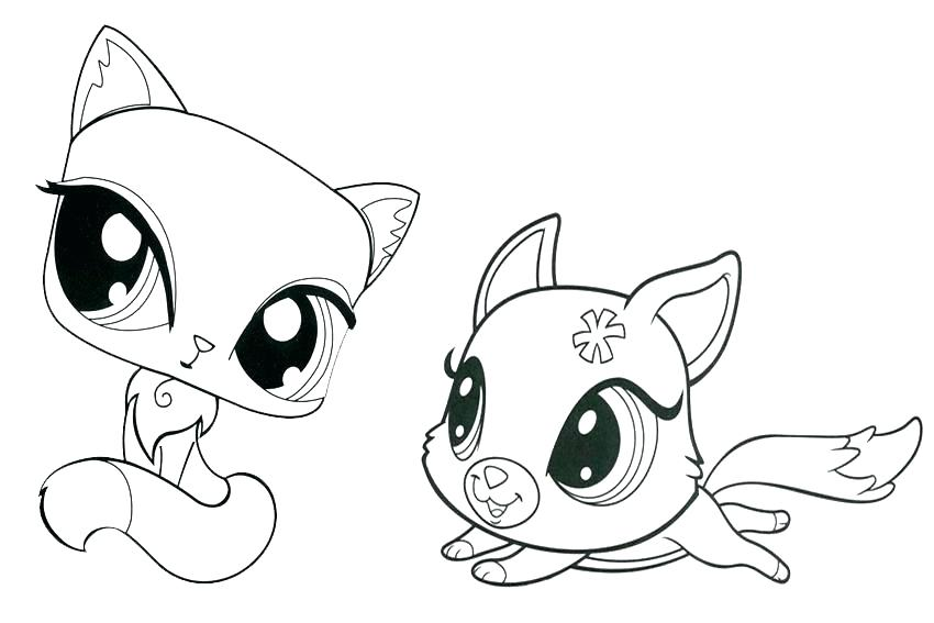 850x567 Kitten Coloring Pages Kitten Coloring Pages Printable Kitten