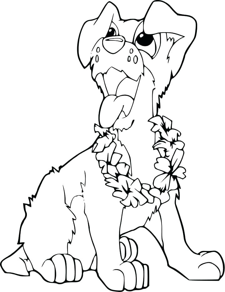 720x932 Cute Puppies Coloring Pages To Print Cute Cartoon Puppy Coloring