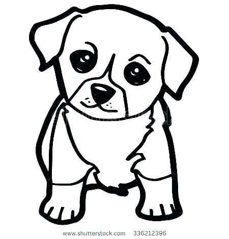 450x470 Coloring Cute Puppy Coloring Page