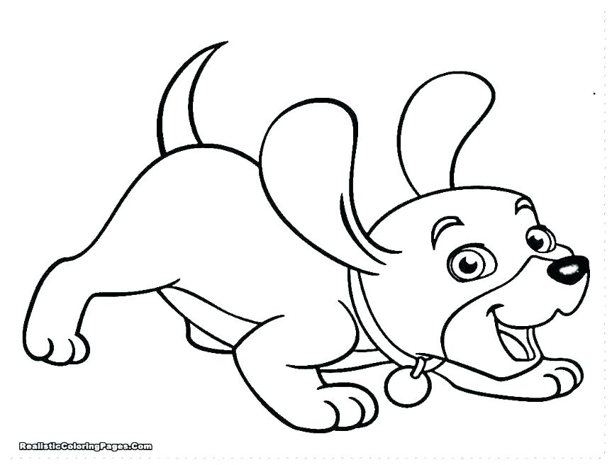 863x656 Puppy Coloring Pages