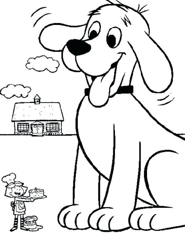 600x761 Clifford Coloring Pages Coloring Page Clifford Coloring Pages Pdf