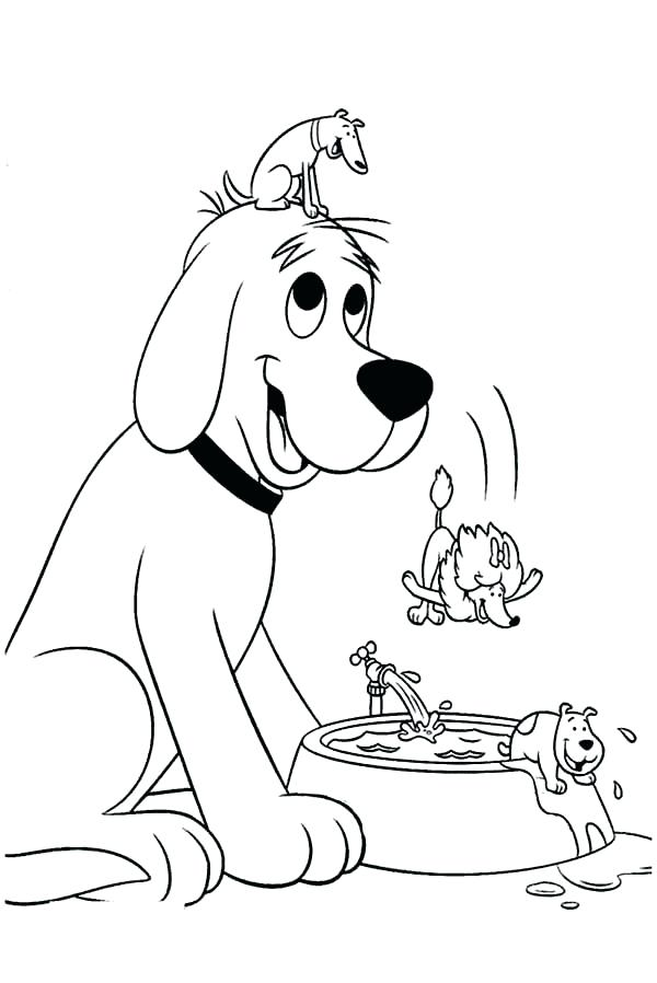 600x898 Clifford Coloring Pages Coloring Pages To Print Pictures The Big