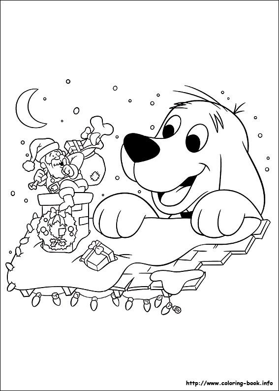 567x794 Clifford Coloring Pages Unique Clifford Puppy Days Coloring Pages