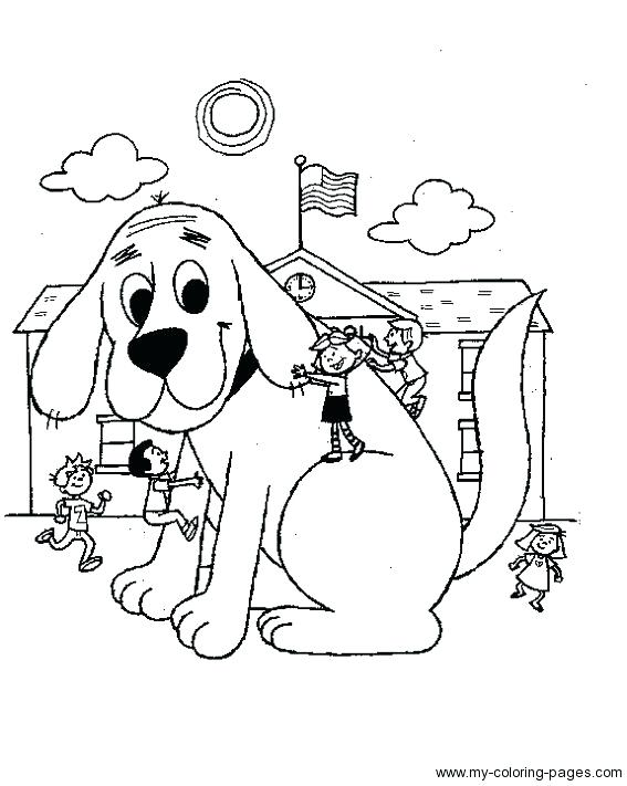 567x711 Clifford Coloring Page Coloring Coloring Pages To Print Kids