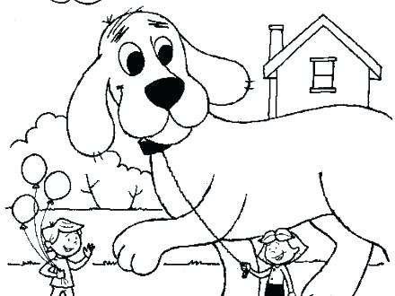 440x330 Clifford Coloring Page Coloring Pages Coloring Pages Coloring