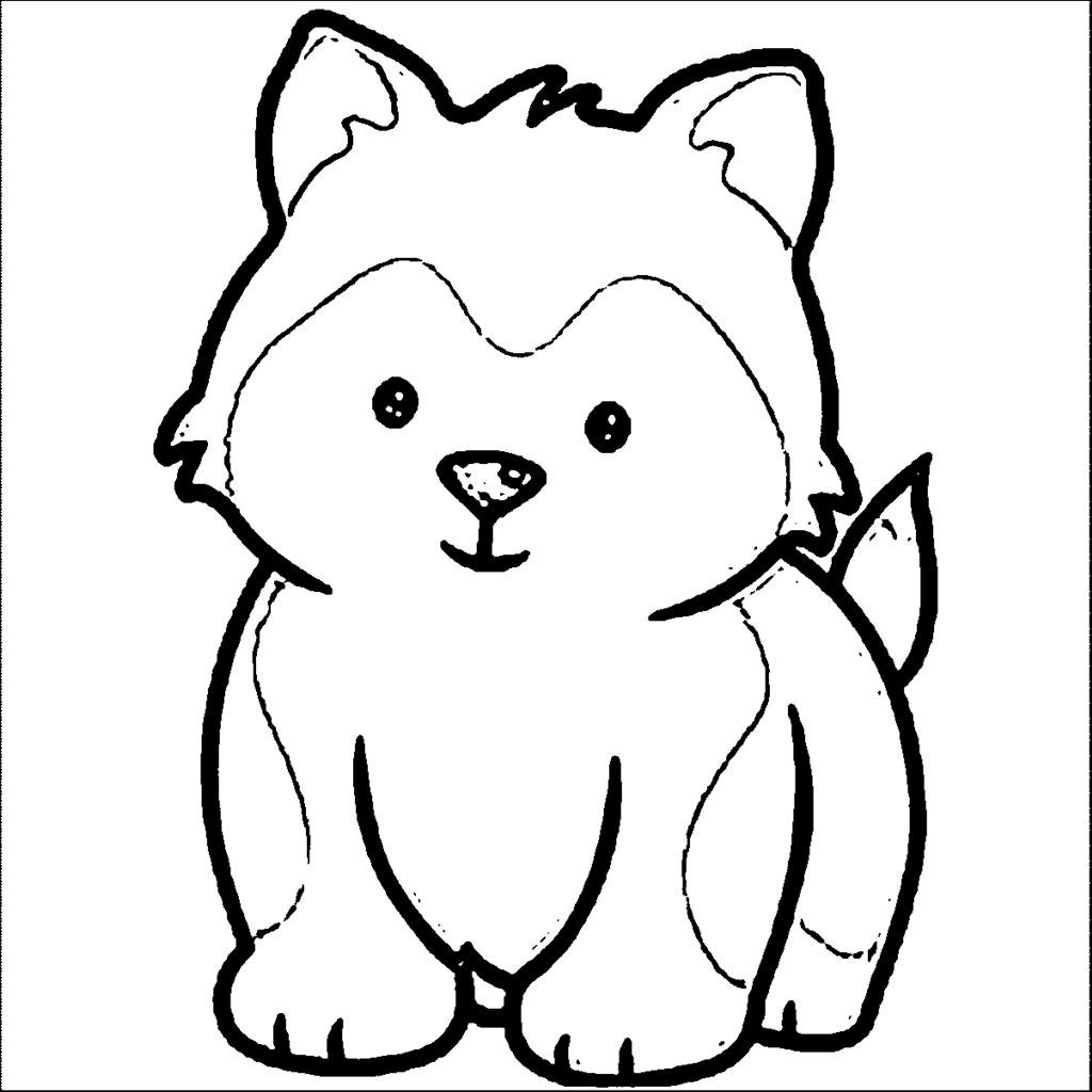 Puppy Coloring Pages at GetDrawings.com | Free for personal ...