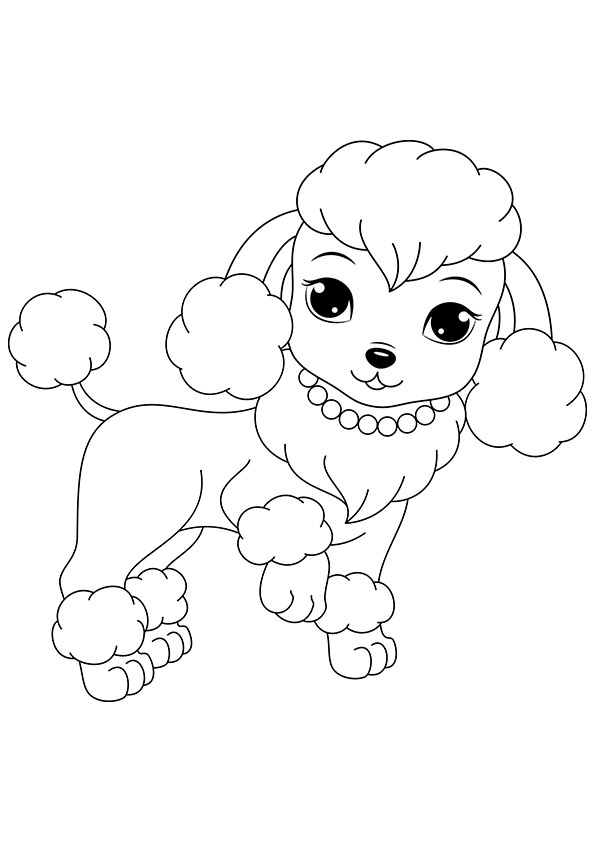 595x842 Free Printable Dogs And Puppies Coloring Pages For Kids