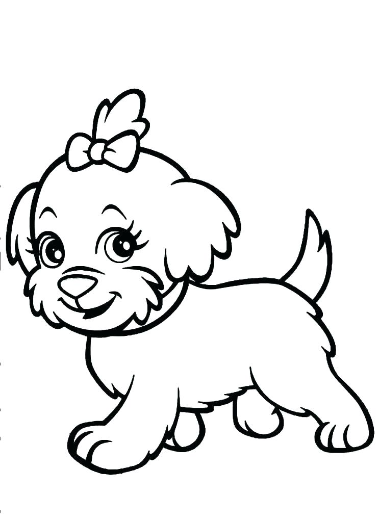 743x1024 Printable Puppy Coloring Pages Cute Free Printable Wonder Pets