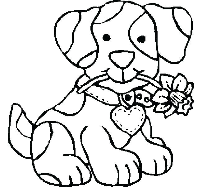 650x600 Printable Puppy Coloring Pages Printable Puppy Coloring Pages Dog