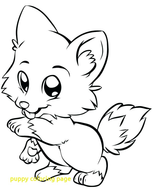 654x768 Puppy Coloring Page With Coloring Page A Puppy Marvelous Puppy