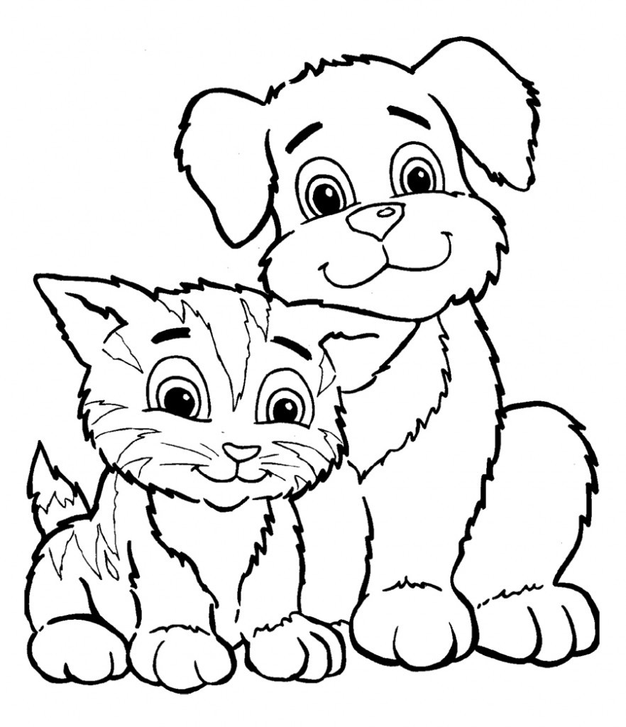 882x1024 Remarkable Print Puppy Pictures Free Printable Coloring Pages