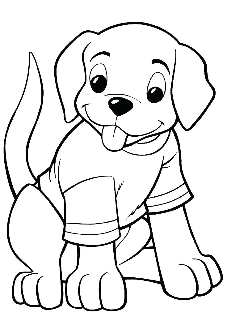 748x1009 Coloring Pages Of Puppies Puppy Coloring Pages Printable Free
