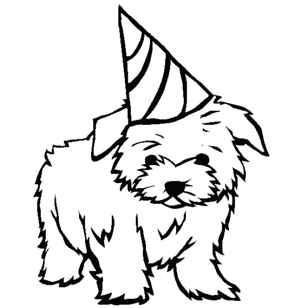600x612 Printable Puppy Coloring Pages Puppy Coloring Pages Spaniel Puppy