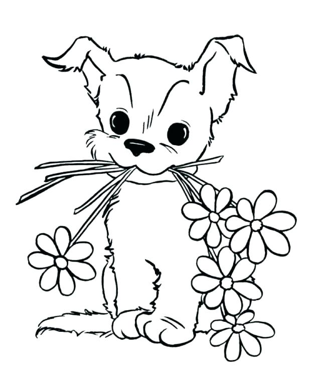 618x757 Puppy Coloring Pages To Print Puppies Coloring Puppy Coloring