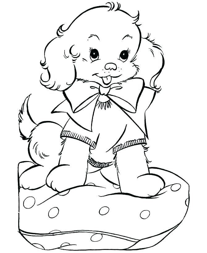 670x820 Puppy Coloring Sheets Cute Baby Puppy Coloring Pages Printable